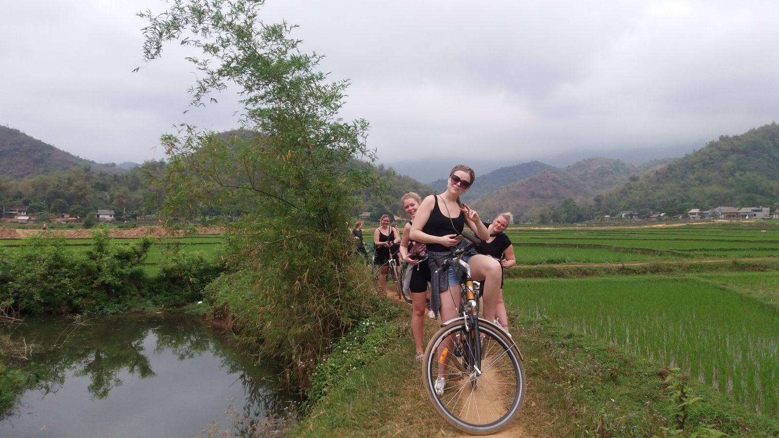 Mai Chau tour biking